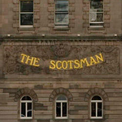 The Scotsman Exterior